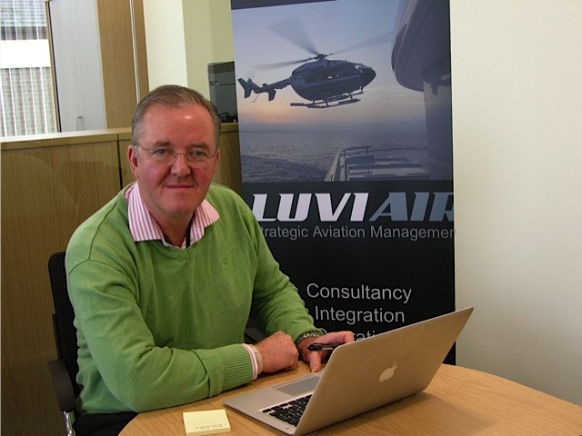 Nigel Watson, the founder of Luviair, is a qualified helicopter pilot and super yacht captain.