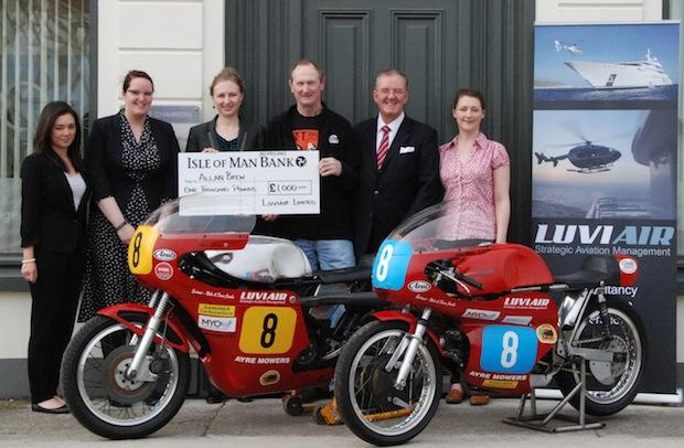 Luviair Allan Brew sponsorship
