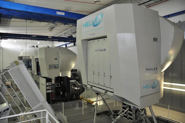 EC155 Pilot Training With HeliSim Simulators. Luviair.